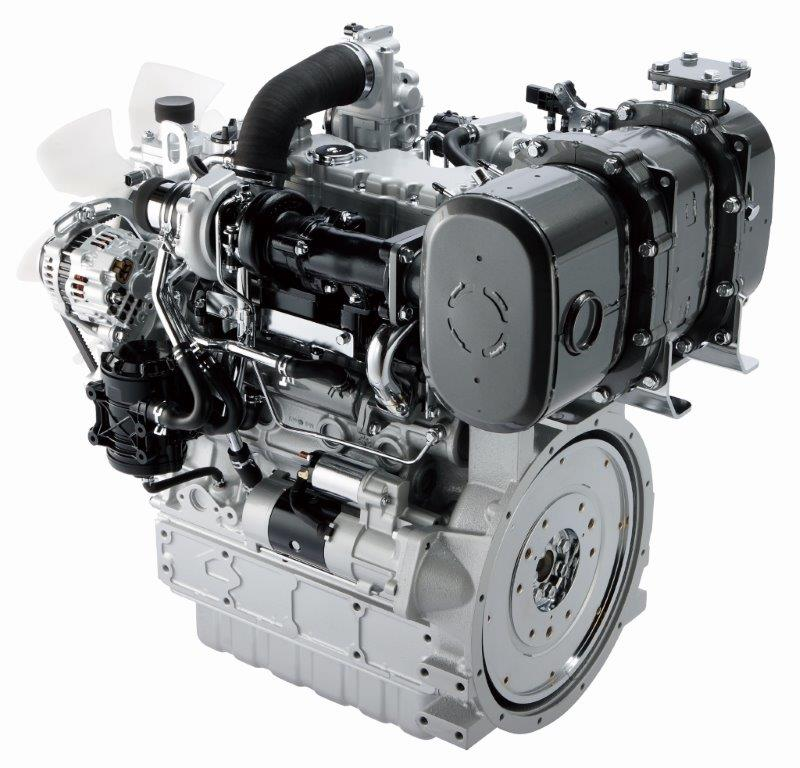 Kubota V3800-T engine