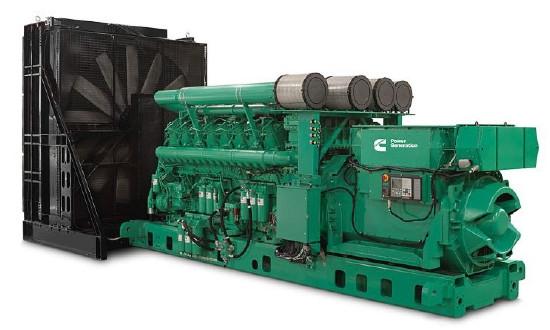 Cummins generator QSK95